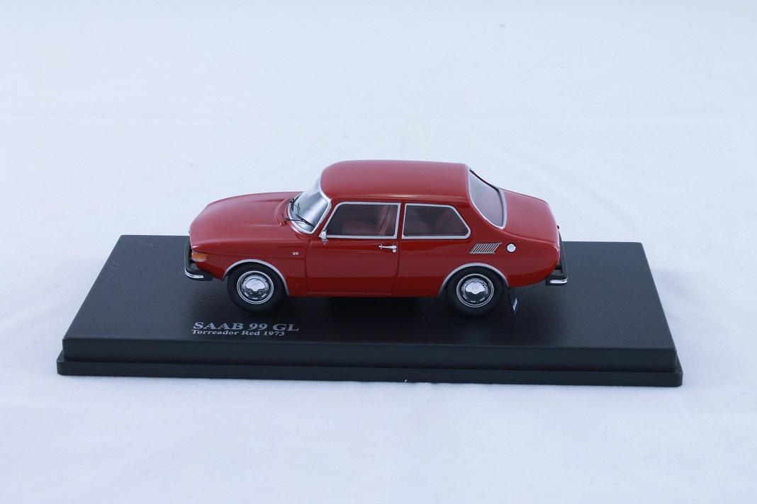 Model Car Saab 99 73 Torreador Red