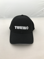 "Cap ""Turbo"" black/white"