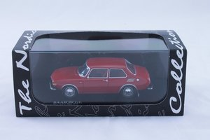 Model car Saab 99 - 73 Torreador red