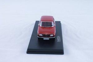 Modellbil Saab 99 - 73 torreadorröd