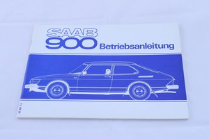 Saab 900 1980, German edition