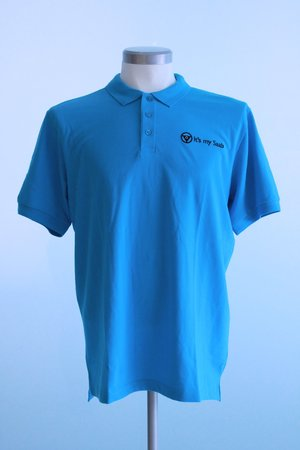 "Polo shirt ""It's my Saab"" size S"